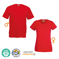FRUIT OF THE LOOM - Valueweight T-Shirt 100% Baumwolle (165 g/m²) - Damen | Herren